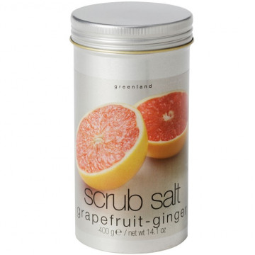 Купити - Greenland Fruit Emotions Scrub Salt Grapefruit & Ginger - Сіль-скраб Грейпфрут-Імбир