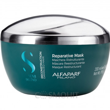 Купити - Alfaparf Semi Di Lino Reconstruction Reparative Mask - Маска Відновлення