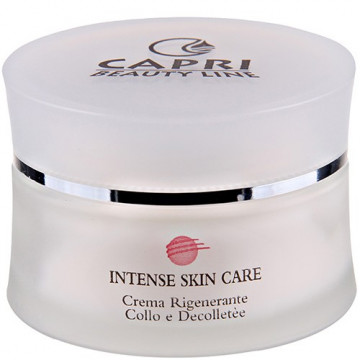 Купити - Capri Beauty Line Intense Skin Care Regenerating Neck And Décolleté Cream - Регенеруючий крем для шиї і зони декольте