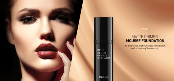 Cailyn Matte Primer Mousse Foundation - Матовий праймер-мус №04 Dupion - 1