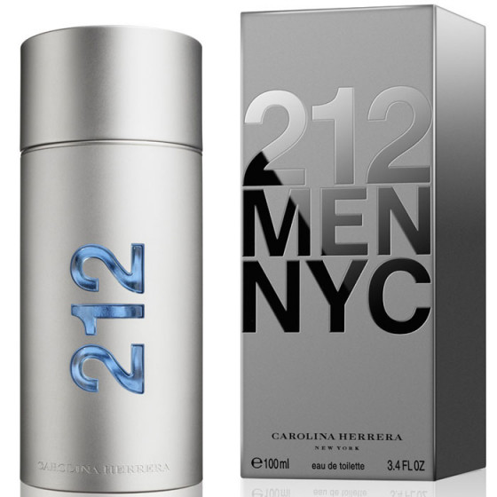 Carolina Herrera 212 Men NYC EDT 100 ml