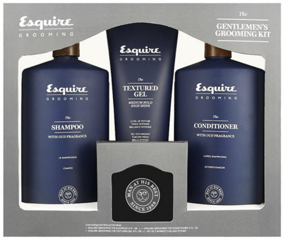 CHI The Gentlemen's Esquire Grooming Kit - Подарунковий набір - 1