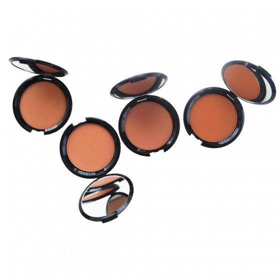 Layla Top Cover Bronzing Powder - Компактна бронзуюча пудра №04 - 1