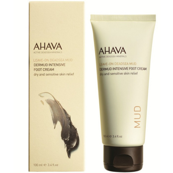 Ahava Deadsea Mud Dermud Intensive Foot Cream - Крем для ніг насичений