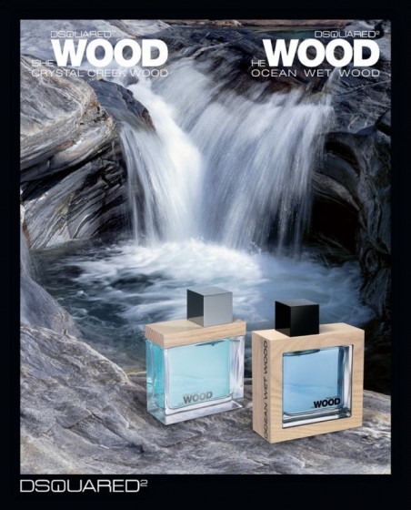 Dsquared2 He Wood Ocean Wet Wood - Туалетна вода (тестер) - 1