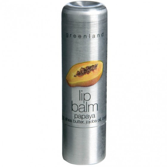 Greenland Balm & Butter Lip Balm Papaya - Бальзам для губ Папайя
