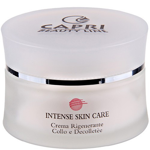 Capri Beauty Line Intense Skin Care Regenerating Neck And Décolleté Cream - Регенеруючий крем для шиї і зони декольте