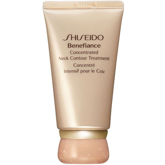 Shiseido Benefiance Concentrated Neck Contour Treatment - Крем для догляду за шкірою шиї