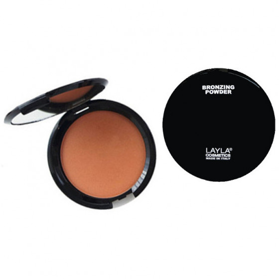 Layla Top Cover Bronzing Powder - Компактна бронзуюча пудра №04