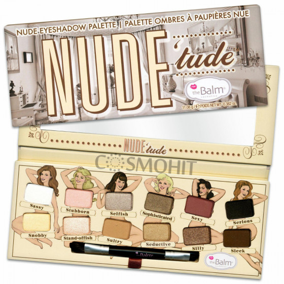 The Balm Palettes Nude'Tude Palette - Палетка тіней